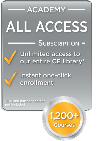 Academy All Access Subscription