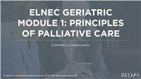 ELNEC Geriatric Module 1: Principles of Palliative Care